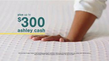 Ashley HomeStore Sale + Clearance Weekend Mattress Event TV Spot, '$300 Ashley Cash' - Thumbnail 8
