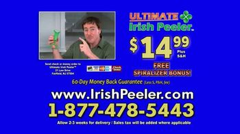 Ultimate Irish Peeler TV Spot, 'Grandma Always Said: Bonus Spiralizer' - Thumbnail 9