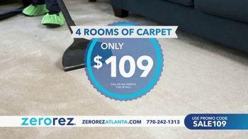 Zerorez TV Spot, '4 Rooms for $109'