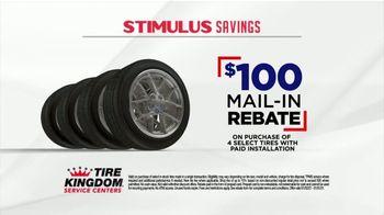 Tire Kingdom Stimulus Savings Event TV Spot, 'Mail-in Rebate: Continental Tires' - Thumbnail 2