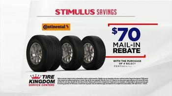 Tire Kingdom Stimulus Savings Event TV Spot, 'Mail-in Rebate: Continental Tires' - Thumbnail 3