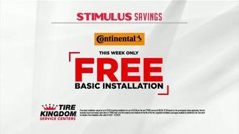 Tire Kingdom Stimulus Savings Event TV Spot, 'Mail-in Rebate: Continental Tires' - Thumbnail 4