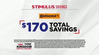 Tire Kingdom Stimulus Savings Event TV Spot, 'Mail-in Rebate: Continental Tires' - Thumbnail 5