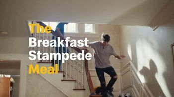 McDonald's 2 for $4 Mix & Match TV Spot, 'The Breakfast Stampede' - Thumbnail 6