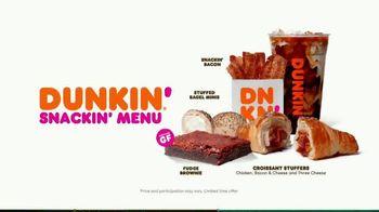 Dunkin' Snackin' Menu TV Spot, 'Snackisfying: Rewards' - Thumbnail 7