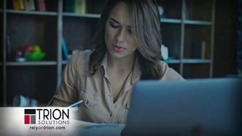 Trion Solutions TV Spot, 'Small Business Owners' - Thumbnail 1