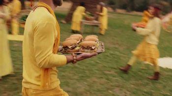 Carl's Jr. and Hardee's Fiery Famous Star TV Spot, 'Chant: Chicken Tenders' - Thumbnail 3