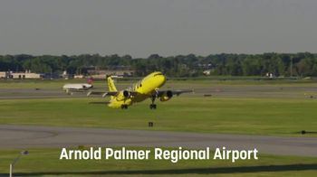 Spirit Airlines TV Spot, 'Resuming Flights Out of Arnold Palmer Regional Airport'