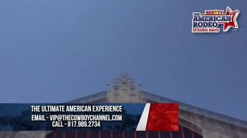 The American Rodeo TV Spot, 'Ultimate Experience: Packages
