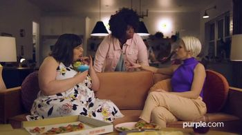 Purple Mattress Winter Sale TV Spot, 'Try It: Free Sheets and Pillow' - Thumbnail 1
