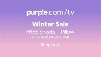 Purple Mattress Winter Sale TV Spot, 'Try It: Free Sheets and Pillow' - Thumbnail 10