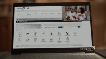 Ameriprise Financial TV Spot, 'Personal Financial Advice From Advisors Who Know You and the Markets' - Thumbnail 5