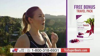 SuperBeets TV Spot, 'Superfood Blood Pressure Energy Support V2' Featuring Hunter Kemper - Thumbnail 7