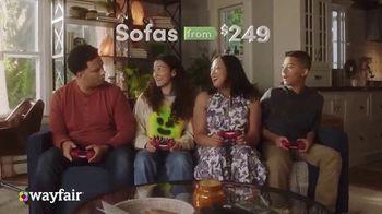 Wayfair TV Spot, 'Spend Less and Get Way More: Sofas' - Thumbnail 3