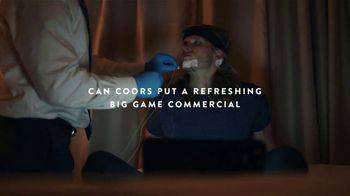 Coors Light TV Spot, 'Big Game Commercial of Your Dreams'