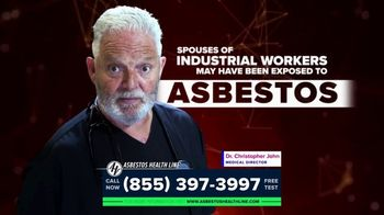 Asbestos Health Line TV Spot, 'Spouses of Industrial Workers' - Thumbnail 1