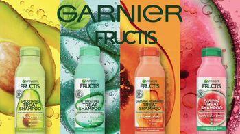 Garnier Fructis Treats TV Spot, 'Súper frutas' canción de Lizzo [Spanish] - Thumbnail 1