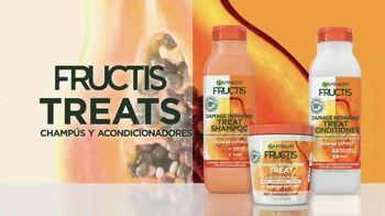 Garnier Fructis Treats TV Spot, 'Súper frutas' canción de Lizzo [Spanish] - Thumbnail 9