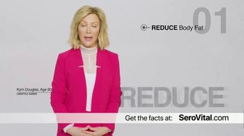 SeroVital TV Spot, 'Look Decades Younger: Capsule or Powder' Featuring Kym Douglas