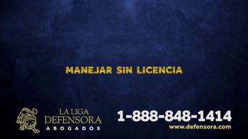 La Liga Defensora TV Spot, 'Avance noticioso' [Spanish] - Thumbnail 6