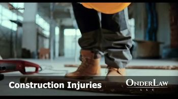 Onder Law Firm TV Spot, 'Construction Accidents' - Thumbnail 1