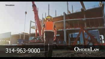 Onder Law Firm TV Spot, 'Construction Accidents' - Thumbnail 8