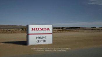 2021 Honda Passport TV Spot, 'Just About Anything' [T2] - Thumbnail 2