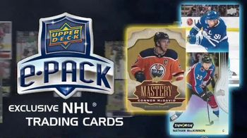 Upper Deck e-Pack TV Spot, 'NHL Players'