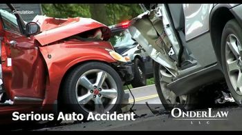 Onder Law Firm TV Spot, 'Traffic Accident' - Thumbnail 1