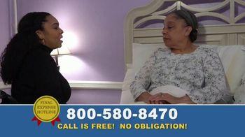 Final Expense Hotline TV Spot, 'I Love You, Mom' - Thumbnail 1