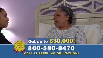 Final Expense Hotline TV Spot, 'I Love You, Mom' - Thumbnail 4
