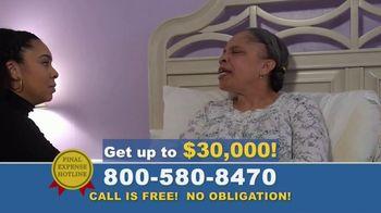 Final Expense Hotline TV Spot, 'I Love You, Mom' - Thumbnail 5