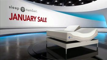 Sleep Number January Sale Weekend Special TV Spot, 'Save Up to $900 and No Interest for 36 Months' - Thumbnail 1