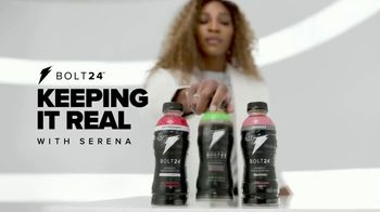 BOLT24 TV Spot, 'Keeping It Real With Serena: Catsuit' Ft. Serena Williams, Song by Alec King - Thumbnail 2