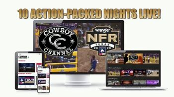 Cowboy Channel Plus TV Spot, '2020 NFR Streaming Pass'