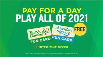 Busch Gardens TV Spot, 'Wow Starts Now: Fun Cards' - Thumbnail 10
