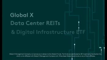 Global X Funds VPN TV Spot, 'Data Center REITs & Digital Infrastructure ETF' - Thumbnail 4