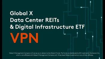 Global X Funds VPN TV Spot, 'Data Center REITs & Digital Infrastructure ETF' - Thumbnail 5