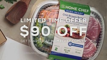 Home Chef Oven-Ready Meals TV Spot, 'Dinner Made Easy: $90' - Thumbnail 10