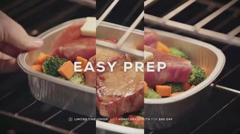 Home Chef Oven-Ready Meals TV Spot, 'Dinner Made Easy: $90' - Thumbnail 5
