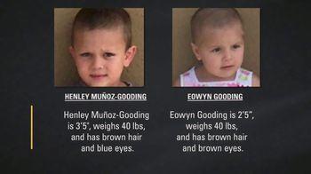 National Center for Missing & Exploited Children TV Spot, 'Henley Muñoz-Gooding and Eowyn Gooding' - Thumbnail 10