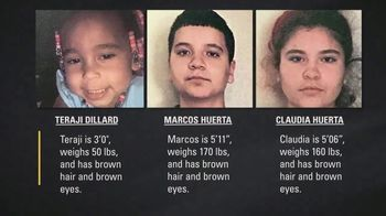 National Center for Missing & Exploited Children TV Spot, 'Teraji, Marcos and Claudia'