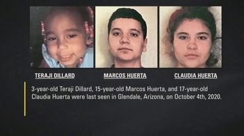 National Center for Missing & Exploited Children TV Spot, 'Teraji, Marcos and Claudia' - Thumbnail 2