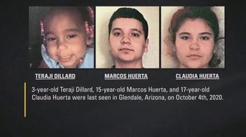 National Center for Missing & Exploited Children TV Spot, 'Teraji, Marcos and Claudia' - Thumbnail 3