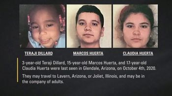 National Center for Missing & Exploited Children TV Spot, 'Teraji, Marcos and Claudia' - Thumbnail 4