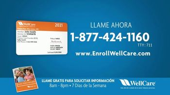 WellCare Health Plans Medicare Advantage TV Spot, 'Atención: Mas benificios' [Spanish]