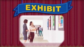 Noggin TV Spot, 'Word Play: Exhibit' - Thumbnail 2