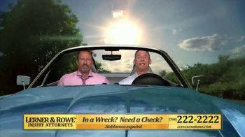 Lerner and Rowe Injury Attorneys TV Spot, 'Weekends: Car Wrecks'