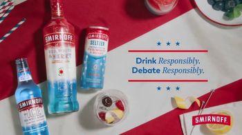 Smirnoff TV Spot, 'Debate Responsibly' Featuring Diane Guerrero, Laverne Cox - Thumbnail 9