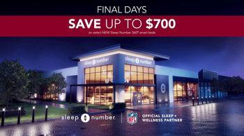Sleep Number Fall Sale TV Spot, 'Temperature Balance: Final Days: Save up to $700' - Thumbnail 9